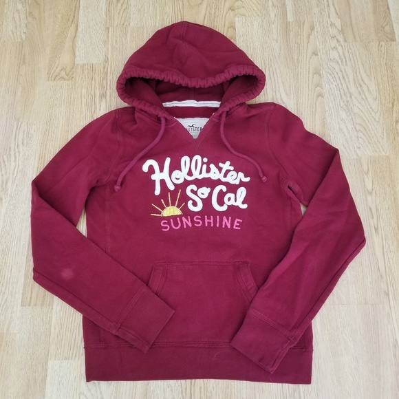 hollister sweatshirt 3 4 arm